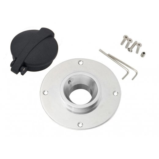 Motone BMW Black Monza Gas Cap Kit - K Series - K75/K100/K1100