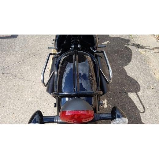 Right Side Speedmaster Pannier Rail Kit A9518217 Triumph Bobber