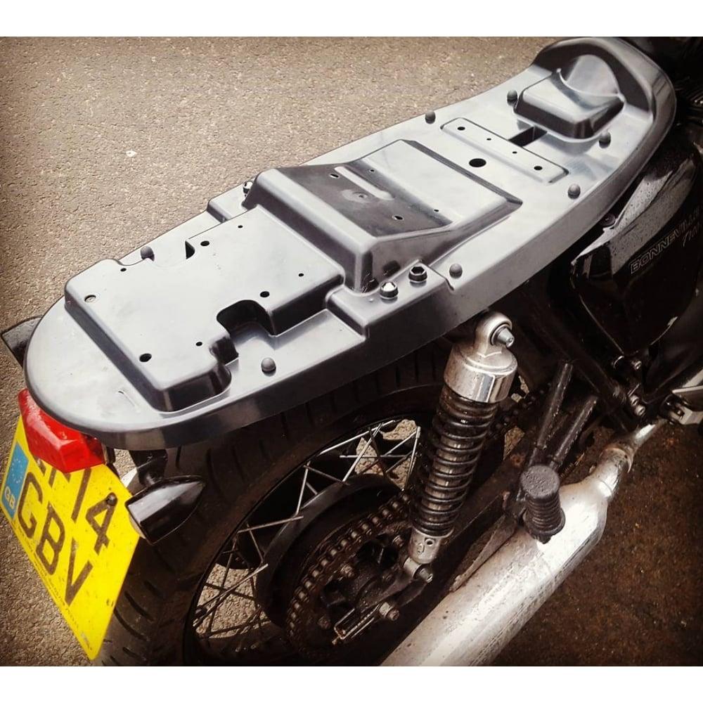Motone Bonneville Seat Base Kit Abs Seat Pan Incl Rubbers And