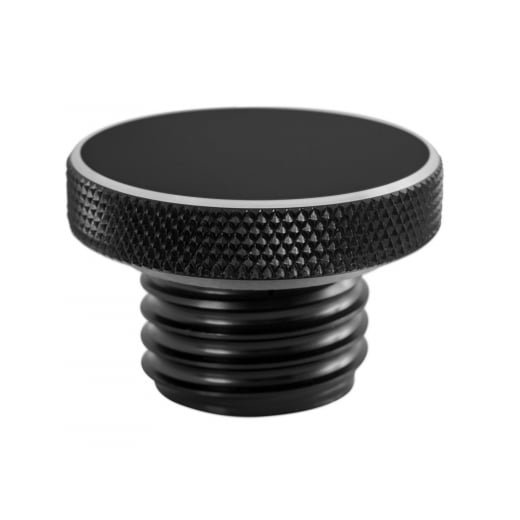 Custom Fuel Gas Cap - Billet Aluminium - Black