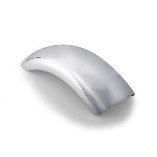 Motone Custom Rear Mudguard/Fender - Polished Aluminium