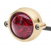 Eldorado Tail Light - LED - Solid Brass