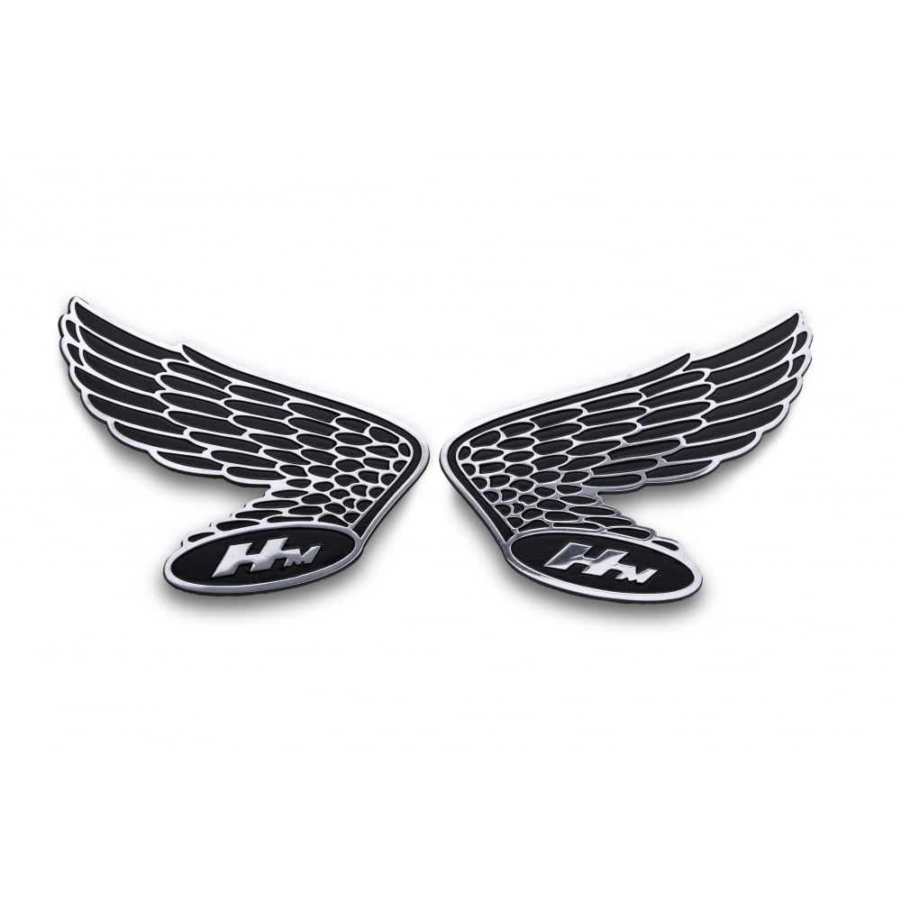 Motorcycle Metal Badges