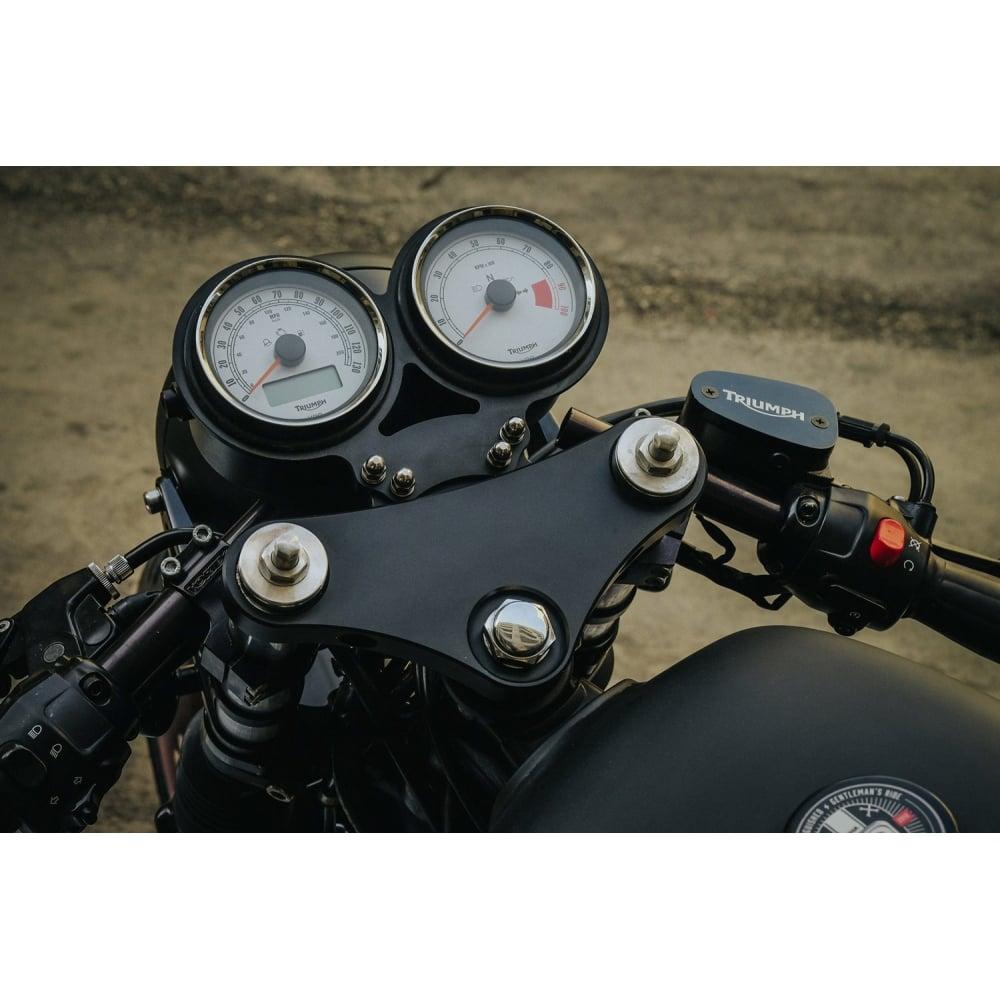 Motone Lay Flat Dash - Guage - Speedo/Tacho Clock Mount Bracket - VDO