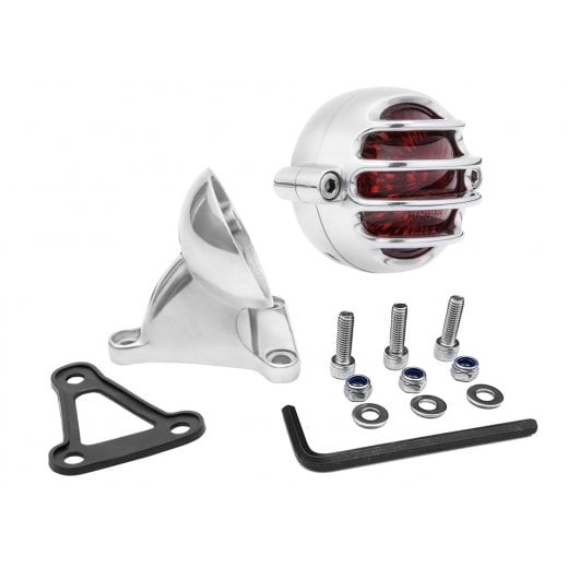 Motone Lecter Tail Light + Fender Mount Kit - Polish
