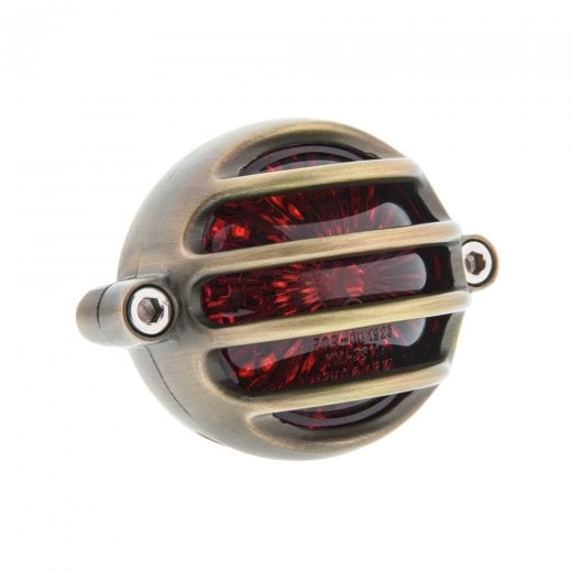 Lecter Tail Light - LED - Brass
