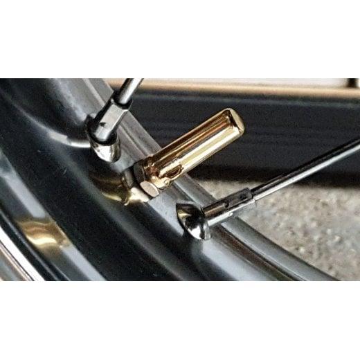 Motone Ballista hot forged brass vintage Michelin style valve caps