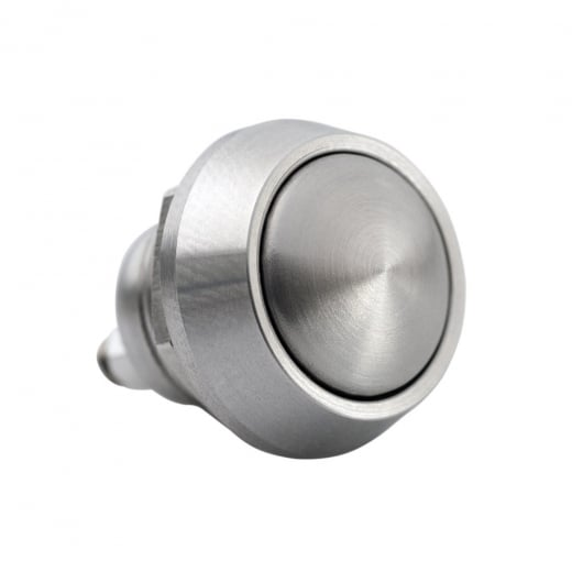 Motone Billet Micro Switch Button - Momentary - M12 - Stainless