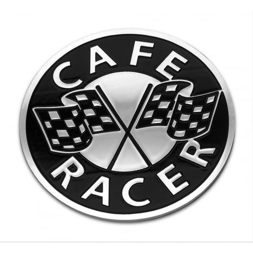 Motone Cafe Racer - Petrol Tank / Side Panel Emblem - Billet