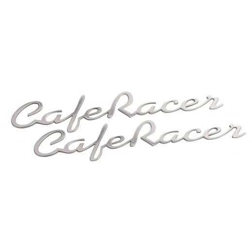 Motone Cafe Racer - Petrol Tank / Side Panel Emblem Set - Polish - Pair