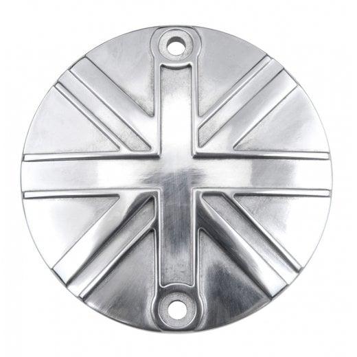 Motone Clutch Badge - Union Jack - Polish