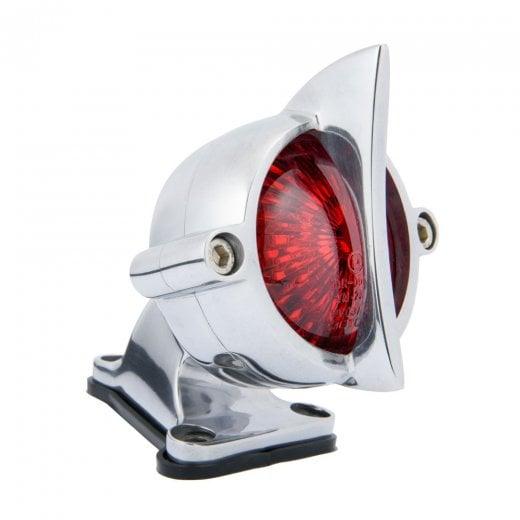 Cuda Tail Light + Fender Mount Kit - Polish