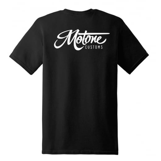 Motone Customs T-Shirt - Black