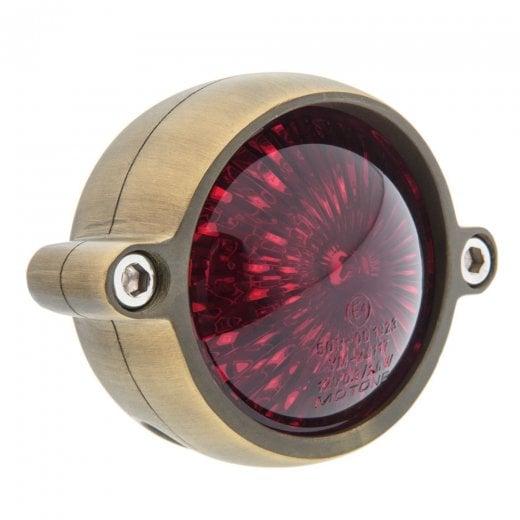 Motone Eldorado Tail Light - LED - Brass