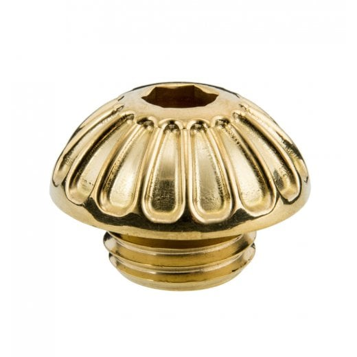 Motone Engine Oil Filler Cap - Roswell - Brass