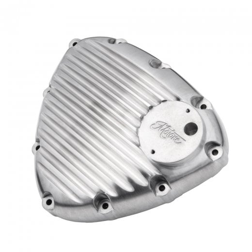 Motone Finned Timing/Stator Cover - Brushed