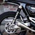 Motone Gladius - Speed Twin/Thruxton Chain Guard - Brushed Finish