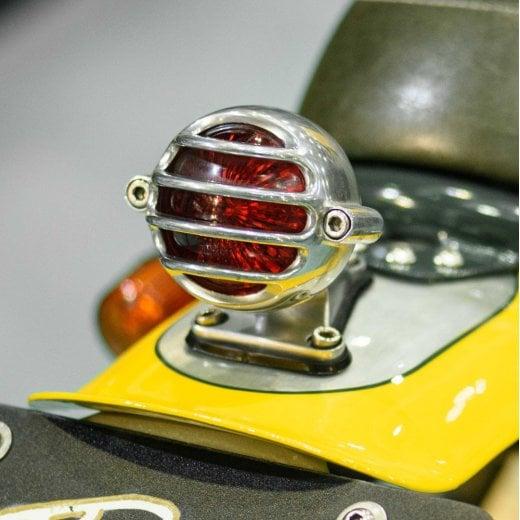 Motone Lecter Tail Light + Fender Mount Kit - Polish