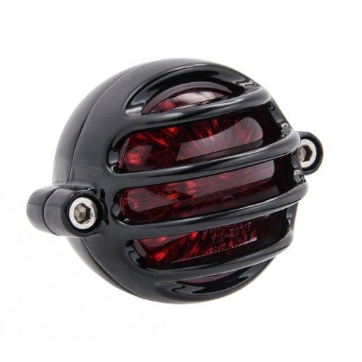 Motone Lecter Tail Light - LED - Black