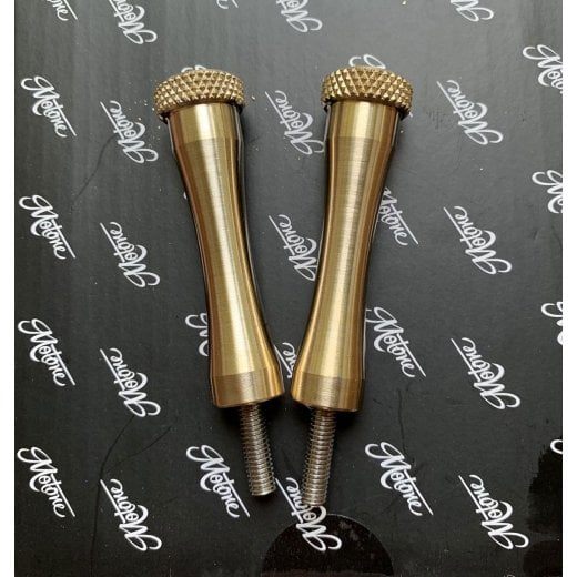 Motone Quick Release Seat Bolts - Brass