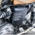 Motone Ribbed Side Panels - Matte Black - LHS ONLY (Scrambler)