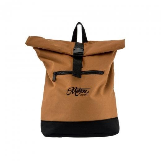 Rolltop Moto Bag - Backpack - Sahara