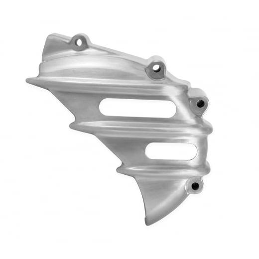 Motone Speedster Sprocket Cover - Ribbed - Brushed - AC