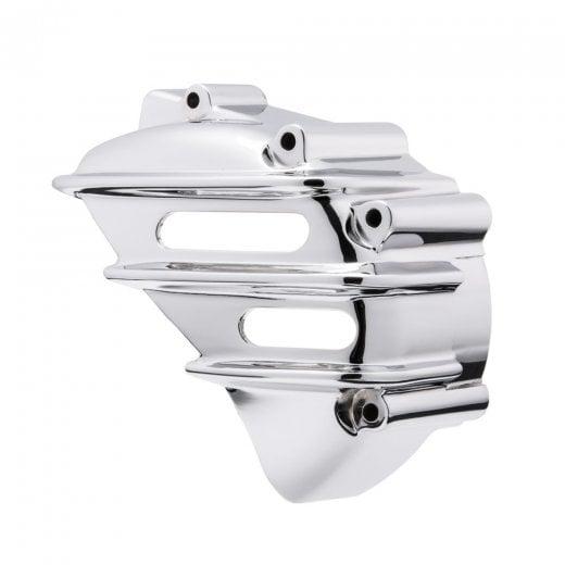 Motone Speedster Sprocket Cover - Ribbed - CHROME - AC