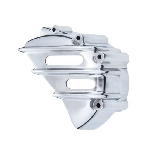 Motone Speedster Sprocket Cover - Ribbed - Polished - AC