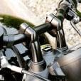 Motone Up-And-Over Riser Kit for 22mm Bars - Black