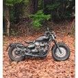 Motone Ventura - Bobber/Speedmaster - Ribbed Side Panels - Gloss Black