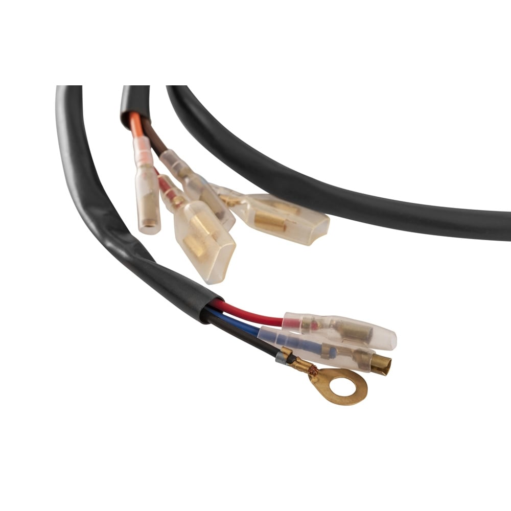 plug and play wiring harness adapter for shock mount indicators p1537 2701_image motone plug and play wiring harness adapter for shock mount plug and play wiring harness at bayanpartner.co