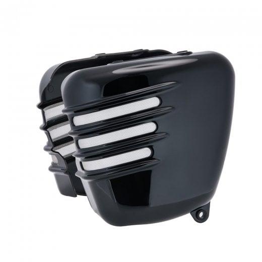 Motone Ribbed Side Panels - Gloss Black