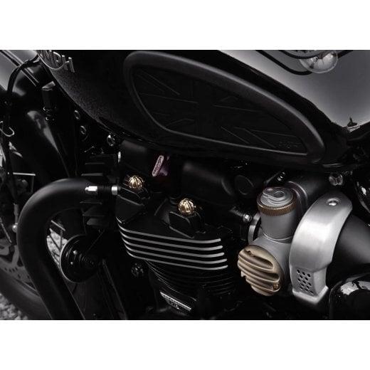 Motone Brass Cylinder Stud Knuckles Caps