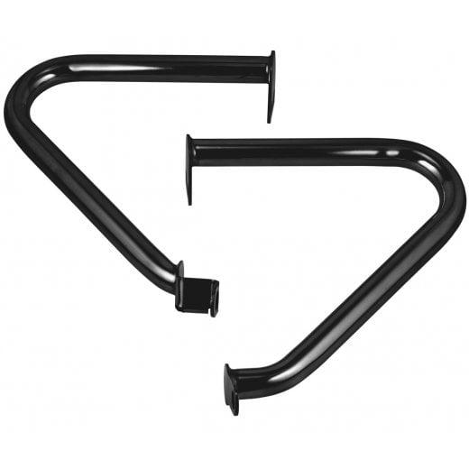 Motone Stainless Steel - Engine Crash Bar Kit - Black