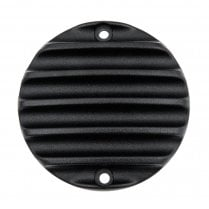 Clutch Badge - Ribbed - Black