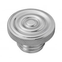 Custom Fuel Gas Cap - Billet Aluminium - Rippled