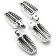 Ranger Foot Pegs - Full Set Rider and Passenger Pegs - Polished