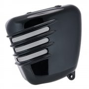 Ribbed Side Panels - Gloss Black - LHS ONLY (Scrambler)
