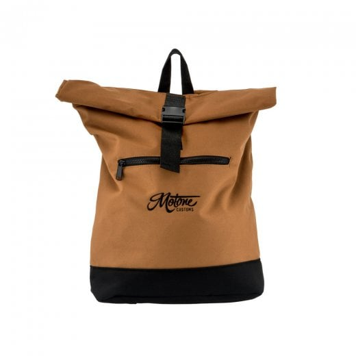 Motone Rolltop Moto Bag - Backpack - Sahara