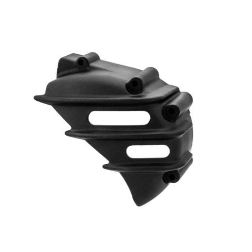 Motone Sprocket Cover - Ribbed - Black - AC