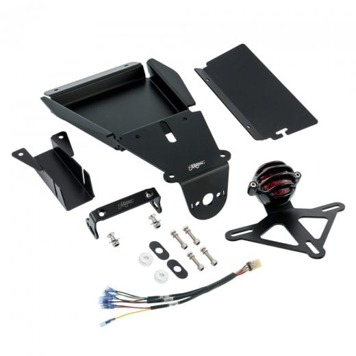 Motone Tail Tidy Kit Street Twin/Street Scrambler/T100/T120 - LECTER Light Black